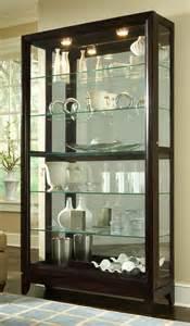 pulaski curio cabinet 20661 two way sldg door curio