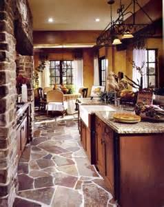 Tuscan Kitchen Floor Ideas