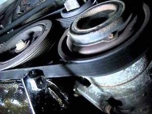 Serpentine Drive Belt  Multi V Belt  How To Remove 2000