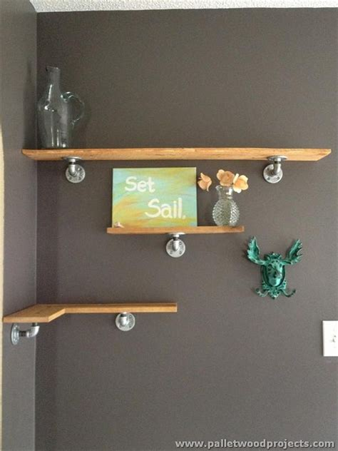 cheap bathroom decor ideas ideas for wooden pallet shelves pallet wood projects