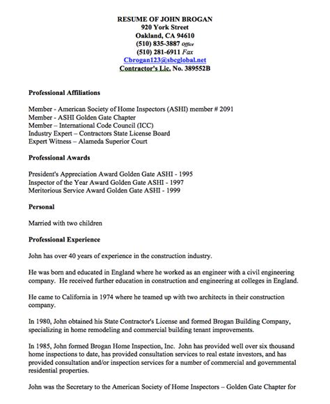 home inspector resume resume qa qc painting inspector