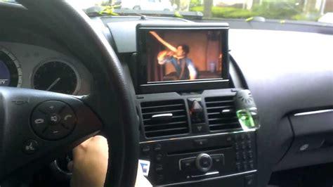 mercedes benz   navi comand flip  monitor youtube