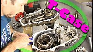 How-to Open A Transfer Case    Change Input Shaft