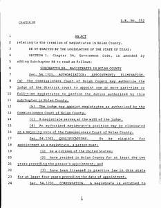 79th texas legislature regular session senate bill 552 With legislative bill template