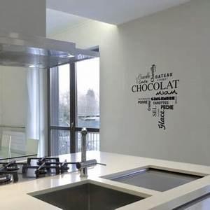 Pochoir Peinture Murale : une peinture pochoir pour la cuisine ~ Premium-room.com Idées de Décoration