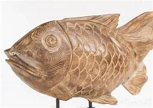 Fische Aus Holz : garten deko figur finn fisch unikat deko holz figuren windalf ~ Buech-reservation.com Haus und Dekorationen