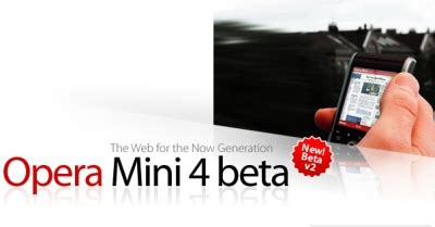 opera mini 4 beta 2 also for blackberry phones softpedia