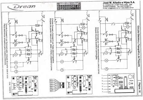 lavarropas secadoras diagramasde diagramas electronicos y diagramas el 233 ctricos