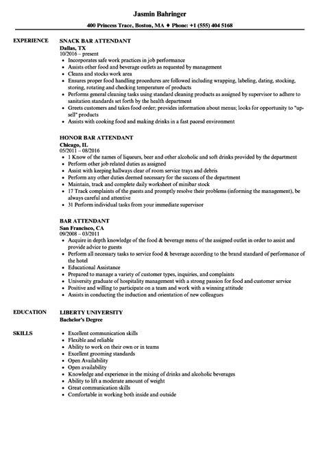 Slot Attendant Resume Examples JobHero