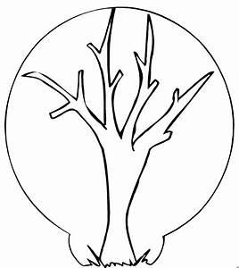 Blätter Vorlagen Zum Ausschneiden : baum ohne blaetter ausmalbild malvorlage comics ~ Lizthompson.info Haus und Dekorationen