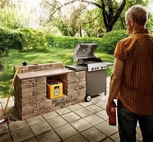 Outdoor Kitchen Selber Bauen : outdoor k che selber bauen tipps von hornbach ~ Lizthompson.info Haus und Dekorationen