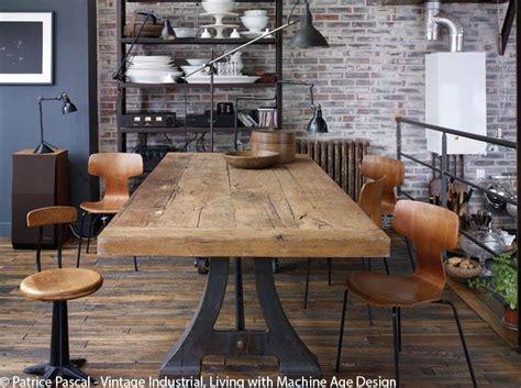 le de bureau industrielle afficher l 39 image d 39 origine deco cuisine sejour