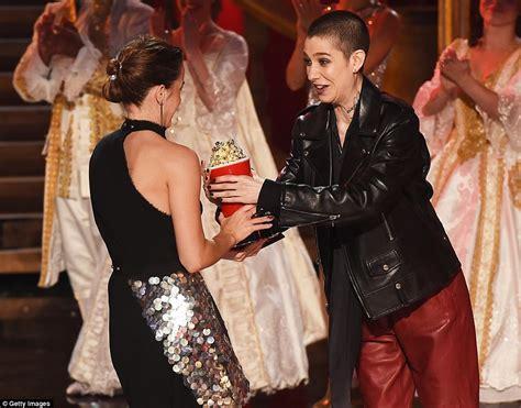 First Gender Free Category Emma Watson Wins Best Actor