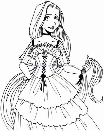 Coloring Pages Ariel Princess Mermaid Disney Classy