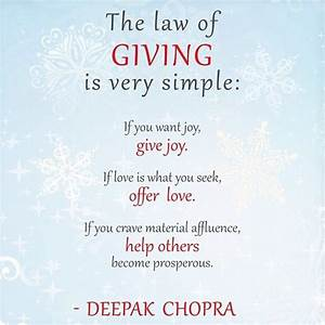 Giving Is Your Greatness