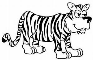 Coloriage Tigre Les Beaux Dessins De Animaux Imprimer