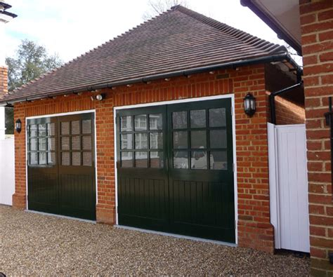 Double Garage Design In Sidcup  Millhouse Landscapes