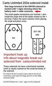 Ez Go Solenoid Wiring Diagram