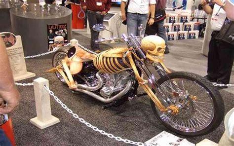 jeux de cuisine une moto sous forme de squelette images drôles