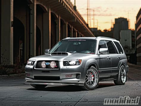 2007 subaru forester xt sports modified magazine