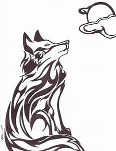 Tribal Wolf Tattoo : tribal wolf by white ookami goddess on deviantart ~ Frokenaadalensverden.com Haus und Dekorationen