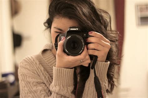 Female Photographer Taking Photo Image  Free Stock Photo