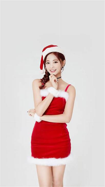 Christmas Twice Kpop Tzuyu Iphone Hp14 Papers