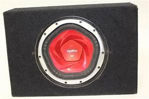Sony Xplod 1200w Subwoofer In Qlogic Box