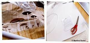 Wassertransferdruck Folie Selber Machen : bastelanleitung lampenschirm mit lieblingsstoff selber machen ~ Kayakingforconservation.com Haus und Dekorationen