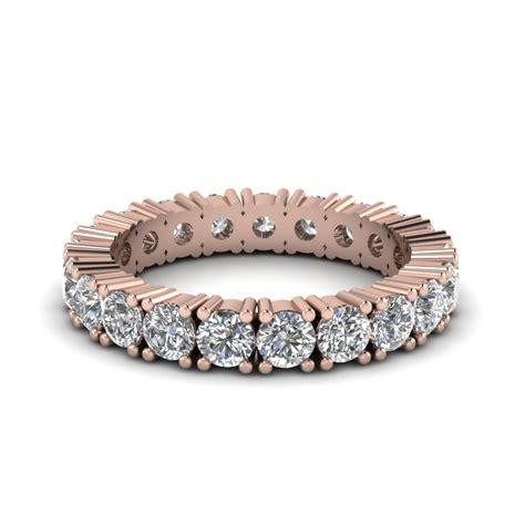 Rare Rose Gold Eternity Bands   Fascinating Diamonds