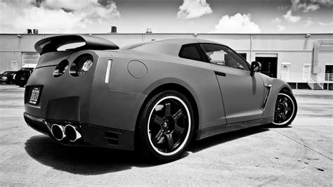 Custom Nissan Gtr Matte Car Wrap Miami Florida