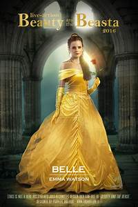 Emma Watson as BELLE in Beauty and the Beast by ...
