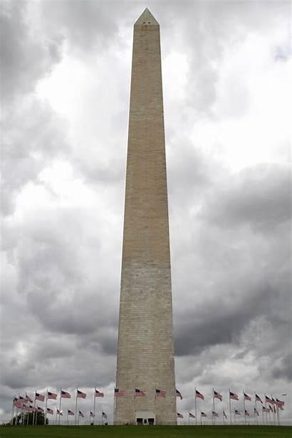 Monument Washington Damage Tuesday National Quake Earthquake
