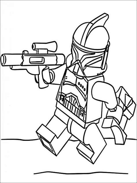 Clone Trooper Kleurplaat by Lego Wars Coloring Pages 7 Coloring Pages For