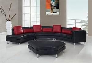 Moderne Kissen Für Sofa : ledersofa schwarz kissen ~ Bigdaddyawards.com Haus und Dekorationen