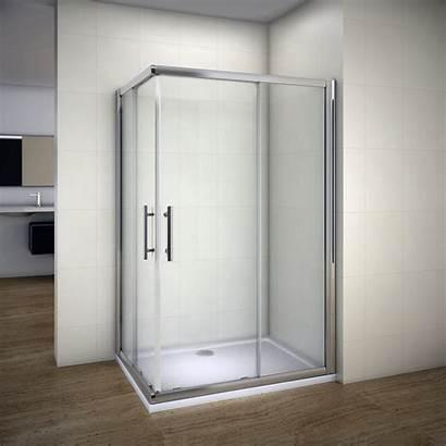 Shower Corner Glass Sliding Door Enclosure Entry