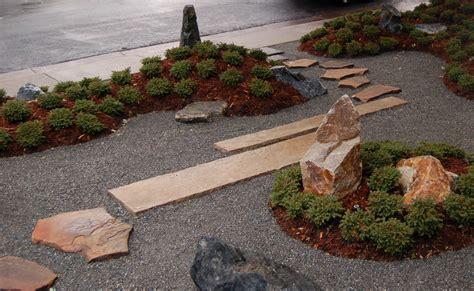 Garten Gestalten Steingarten by Vorgarten Steingarten Idee Freshouse