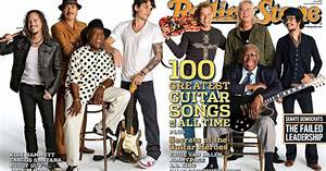 Guitar Hero Iii Charts Rolling Stone Cover 1054 100 Greatest Guitar Songs