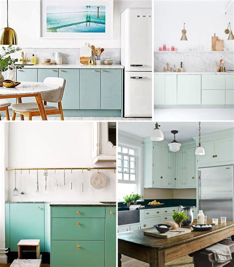 mint green kitchen bringing color into the kitchen by design 4147