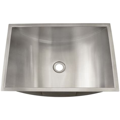 Stainless Steel Sinks Bathroom by Ticor S730 Undermount Stainless Steel Bathroom Sink