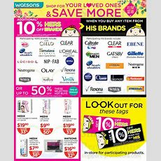 Watsons Personal Care, Health, Cosmetics & Beauty Offers