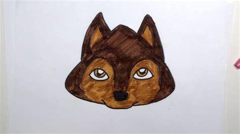 draw  cartoon dog face curiouscom