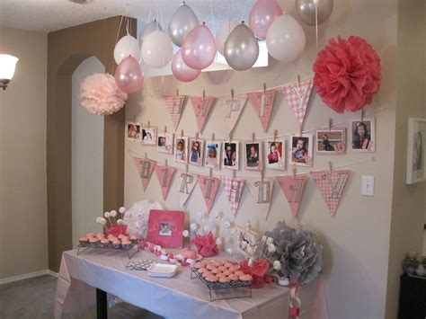 1st birthday ideas for baby girl party themes inspiration actual decorations for my baby girl 39 s 1st bday party