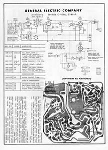 General Electric C400a  Service Manual  Repair Schematics