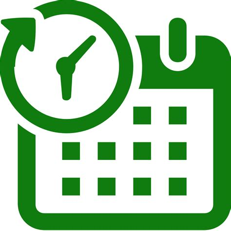 schedule clipart free schedule icons for free in png and svg