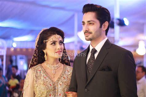 ayeza khan  danish taimoor  married baraat