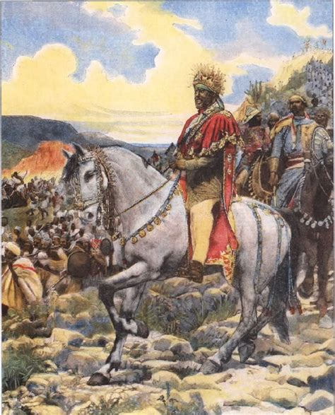 siege emperor the battle of adwa in which forces