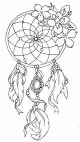 Coloring Pages Dreamcatcher Easter Tattoo Catcher Dream Adult Printable Tattoos Cool A4 Awesome Visit Future Temporary sketch template