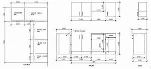 Dimension Standard Meuble Cuisine : meuble de cuisine dimension cuisine en image ~ Teatrodelosmanantiales.com Idées de Décoration
