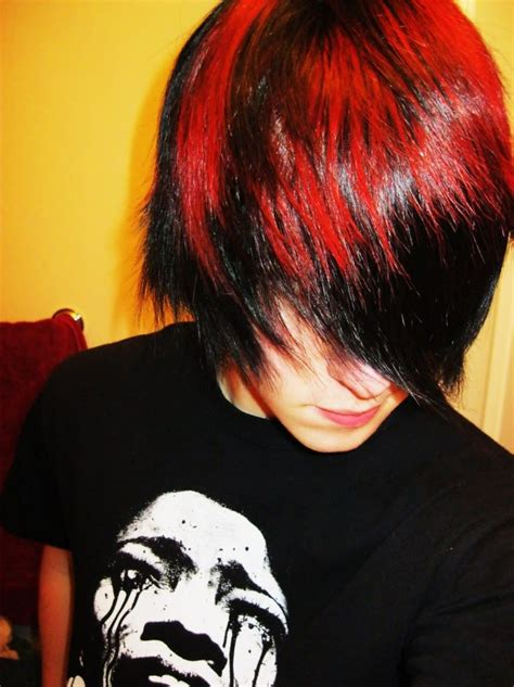 Emo Boys With Red Hair Emo Boys Colored Hair Emo